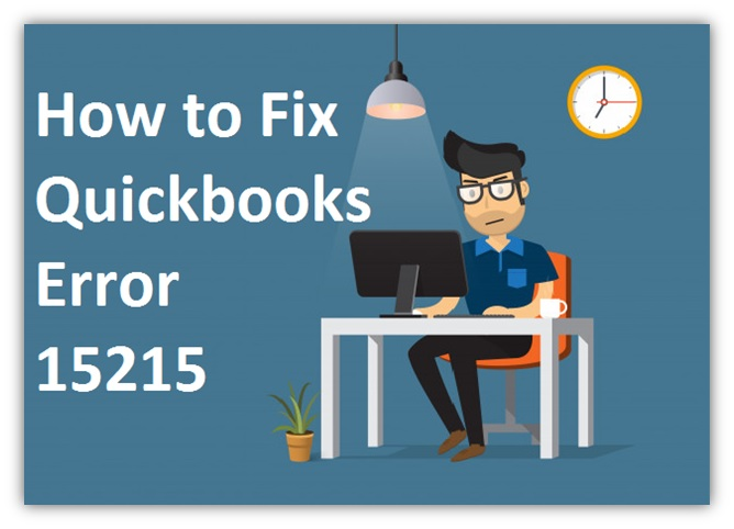 QuickBooks Error 15215 - How to Fix